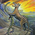 Tigers, Dancing on the Edge by SnakeArtist