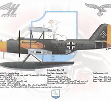 Heinkel He 59 by A. Hermann