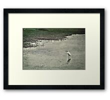 April; Come She Will Framed Print