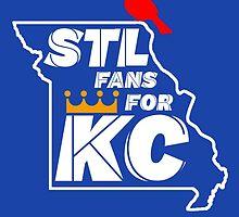 St Louis Fans for Kansas City by SkipHarvey