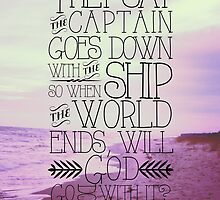 The Captain Goes Down With His Ship - Fall Out Boy Lyrics by LaurenTank