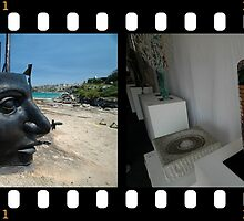 Sculptures By The Sea 2011- Face Off by muz2142