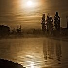 Spring Sun Rise at Lake Burley Griffin (Canberra/ACT/Australia) (5) by Wolf Sverak