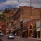 Main Street - Bisbee Az. by Ann Warrenton