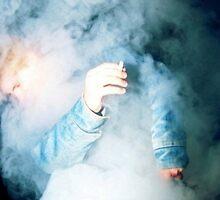 Grizzly w/ smoke by kittyholocaust