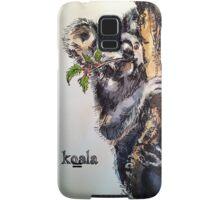 Christmas koala. Elizabeth Moore Golding 2014© Samsung Galaxy Case/Skin