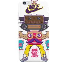 is nice be to me iPhone Case/Skin