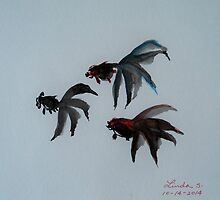 Triple Fish by LindaLin3