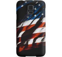Waving USA Flag At Night Samsung Galaxy Case/Skin