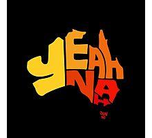 Yeah Nah (Australia) Photographic Print
