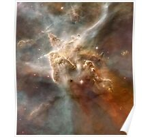 Star Forming in the Carina Nebula Poster