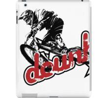 MTB downhill iPad Case/Skin