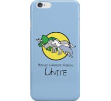 Horned Warrior Friends UNITE! iPhone Case/Skin