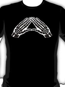 'Hands and Bones' black T-Shirt