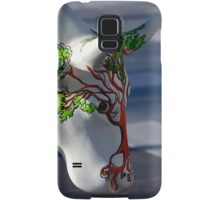 Cow with tree, Ebrington, Derry Samsung Galaxy Case/Skin