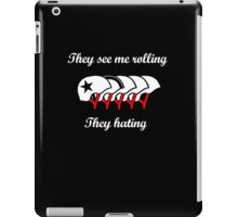 They See Me Rolling (Roller Derby) iPad Case/Skin