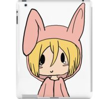 christa snk iPad Case/Skin