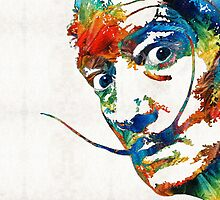 Colorful Dali Art by Sharon Cummings by Sharon Cummings