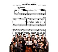 King of New York - Newsies Photographic Print