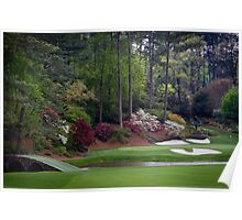 Golf Amen Corner Augusta Georgia Cases, Prints, Posters, Totes, Home Decor Gifts Poster