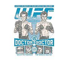 UFC 100 - Gallifrey's card Photographic Print