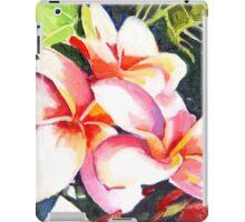 Pink Plumeria Heaven Scent iPad Case/Skin