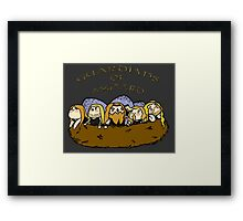 Chibi Amon Amarth: Guardians of Asgaard Framed Print