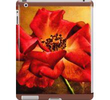 Scarlet Flower iPad Case/Skin