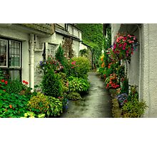 A Hawkshead Alley Photographic Print