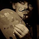 Artist Doctor Faustus. by © Adela Jopek. by © Andrzej Goszcz,M.D. Ph.D