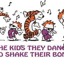 The kids they dance and shake their bones! by Ithacaboy