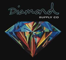 Diamond Supply Co Colourful Diamond by uglyteacher