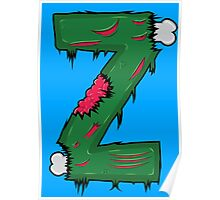 Z for Zombies Poster