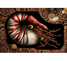 Steampunk - Nautilus - Coming out of your shell Photographic Print
