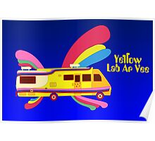 Yellow Lab RV Poster