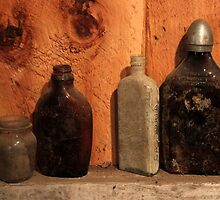 Old Bottles 1 by marybedy