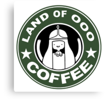 COFFEE: LAND OF OOO Canvas Print