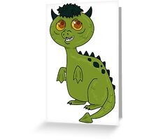 Matches the Dragon Greeting Card
