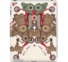 Vector Abstract robot character iPad Case/Skin
