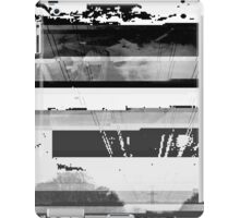 Glitched Exposure iPad Case/Skin