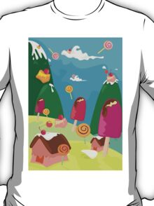 ice cream and candy land T-Shirt