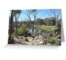 A Sunday Walk!  Golden Grove, Spring, Adelaide. S.A. Greeting Card