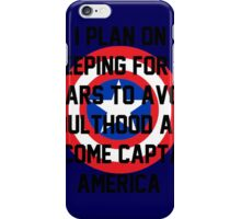 Request - Navy Captain America iPhone Case/Skin