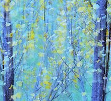 Poplars by Laurie Minor