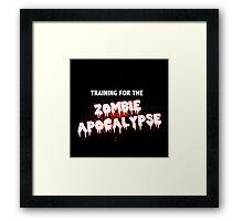 Zombie Apocalypse 2 Framed Print