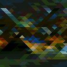 Geometric Pattern 5 by Jamie Harrington