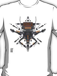 guitar robot character design T-Shirt