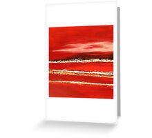 Fields of Fire I - Diptych Greeting Card