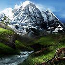 Snow Leopard by Cliff Vestergaard