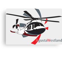 AgustaWestland AW169 Canvas Print